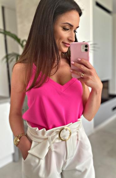Bluzka Stella Neon Pink