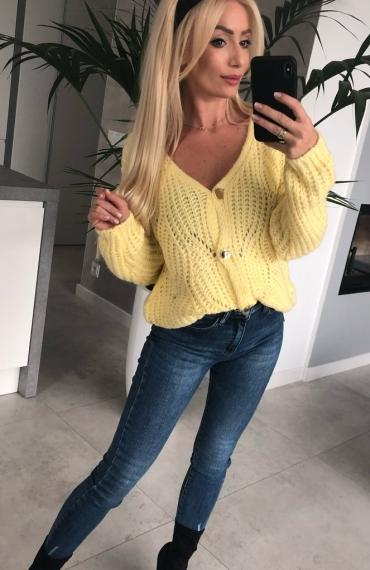 Sweter Viola Yellow