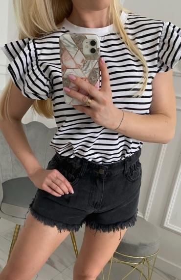 Bluzka BEE black