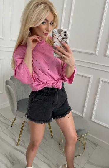 Bluzka FIXI pink