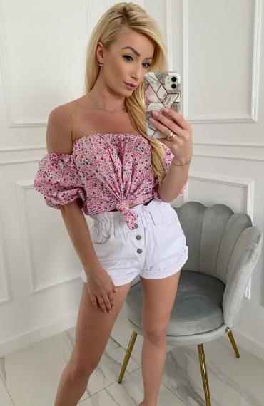 Bluzka MEG pink