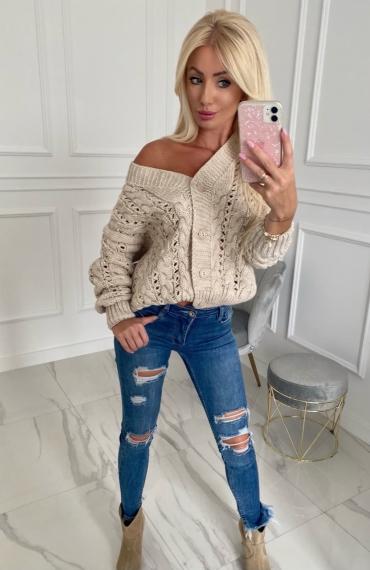 Sweter LAVIDA beige