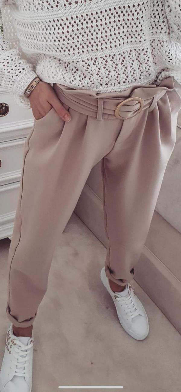 Spodnie Cristina Beige