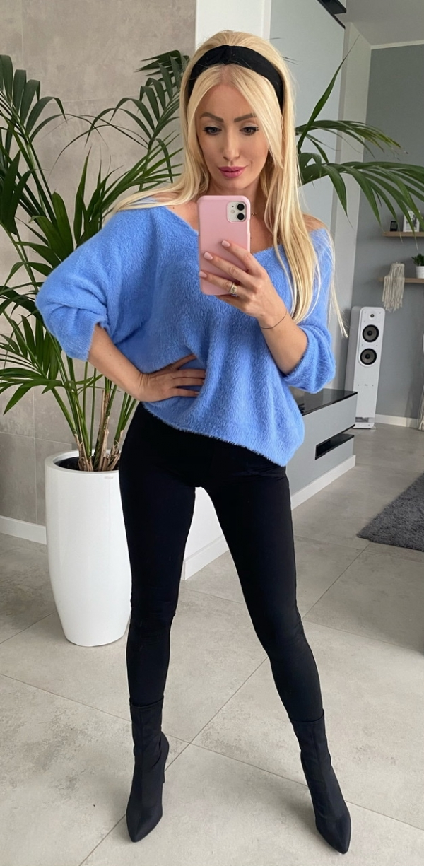 Sweter Paula Blue