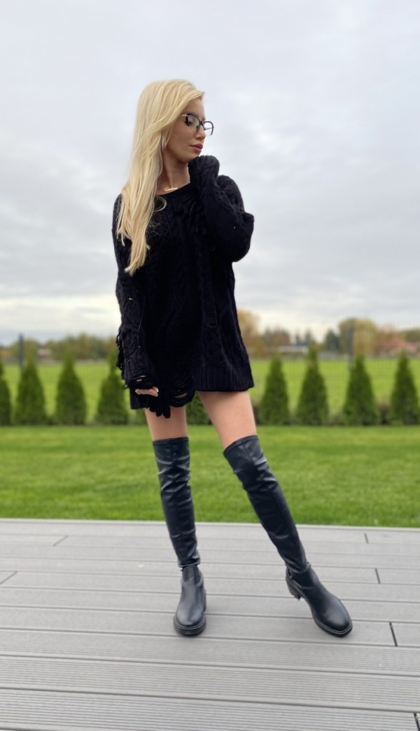 Sweter KORI black