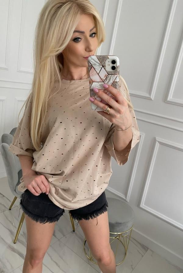 Bluzka FIXI beige